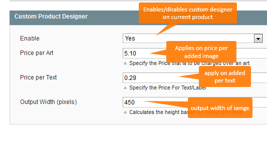 Enable Designer Product